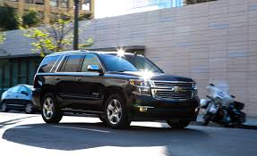 nissan armada 2017 vs chevy tahoe 2015 chevrolet tahoe ltz 4wd u2013 review u2013 car and driver