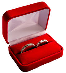 wedding ring in a box ring in box clipart 22