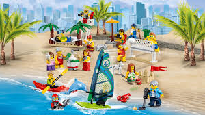 60153 people pack u2013 fun at the beach lego city products and