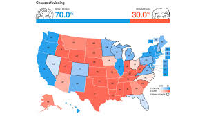 2016 Election Prediction Map by Clinton Vs Trump By The Numbers Or How To Really Understand