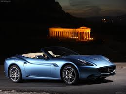Ferrari California Dark Blue - ferrari california wallpaper 7000566