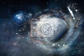 galaxy wall mural space of galaxy with and planet wall mural space cloud