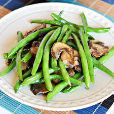 easy green beans with mushrooms recipe home cooking memories