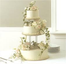 decorating cakes with real flowers using water tubes will keep
