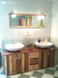 Salle De Bain Bathroom Accessories by Bathroom Pallet U0026 Wine Boxes Furniture Meuble De Salle De Bain