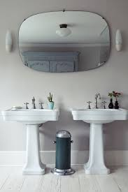 Vintage Bathroom Mirrors by The Power Of Pastels A London House Reimagined Sinks Pedestal