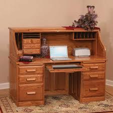 Secretary Computer Desk by Computer Table Roll Top Computer Desk Oak Raised Panel Shocking