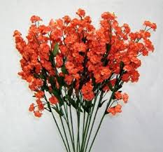 silk baby s breath 12 coral babys breath wedding silk gypso flowers fillers