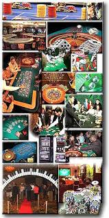 Las Vegas Theme Party Decorations - atlanta st louis kansas city casino party real tables real