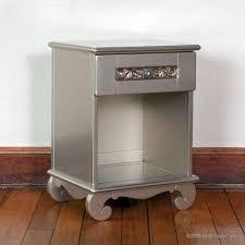 bratt decor chelsea nightstand in antique silver
