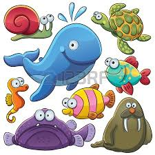 sea animals collection clase tiny pinterest art clipart