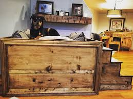 dog bed with stairs home design and decoration