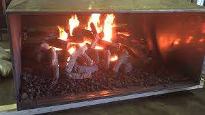 acucraft custom gas see through outdoor fireplace with dual burner