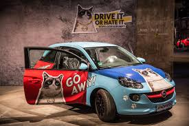 opel adam buick grumpy cat opel adam the news wheel