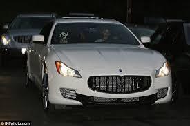 white maserati miley cyrus u0027 100k maserati reportedly stolen