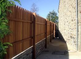 cloture jardin bois portails et portes bois pvc fabrication et pose trégueux