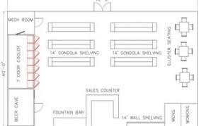 Convenience Store Floor Plans C Store Floor Plans Decorbold