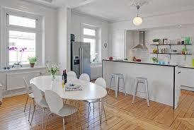 Scandinavian Kitchen Ideas That Will Make Dining A Delight - Scandinavian kitchen table