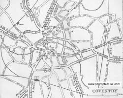 map uk coventry map the pcgblog