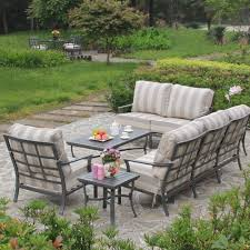 hanamint hudson 5 piece seating collection outdoor furniture