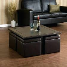 Coffee Table With Ottoman Seating Coffee Table With Seating Cubes Coffee Table With Seating
