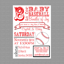 baby shower sports invitations effective baseball baby shower invitations with background colors