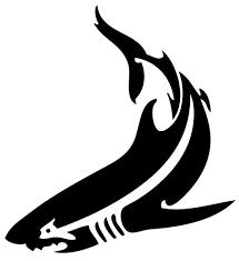 best 25 tribal shark tattoos ideas on pinterest tribal shark