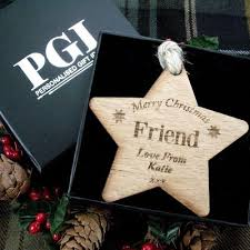 personalised friend gift friend wooden gift wooden