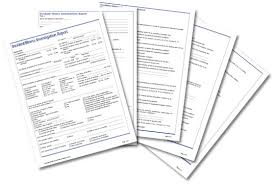Incident Investigation Report Template by Incident Illness Investigation Report Form