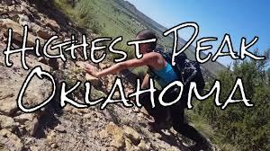 We summited the highest peak in oklahoma black mesa adventure