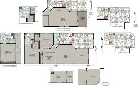 Home Floor Plan by Manufactured Homes Floor Plans Dealer Silvercrest Bradford Plan A