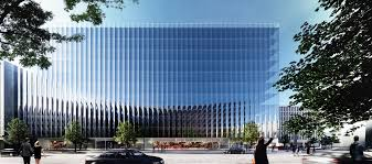 Home Design Stores Washington Dc by Rex Unveils A Fluted Glass Office Building In Washington D C