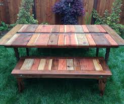 Pallets Patio Furniture by Coffee Table Magnificent Pallet Wood Sofa Table Ottoman Coffee