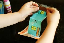 spooky house pop up cards make and takes