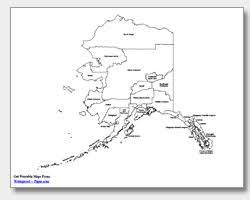 map of alaska cities printable alaska maps state outline borough cities