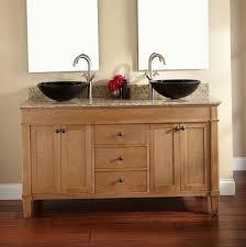 Rustic Bathroom Vanities For Vessel Sinks Powder Room Vanities With Vessel Sinks Home Design Ideas
