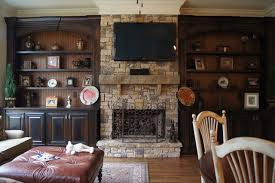 Bookcases And Fireplace Mantels Traditional Family Room - Family room bookcases