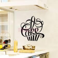 decor mural cuisine aliexpress com buy stickers cuisine cupcake vinyl wall decals