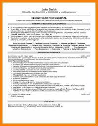 Recruitment Resume 8 Hr Recruiter Resume Acknowledge Form