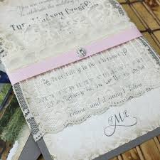 vintage lace wedding invitations wedding invitation