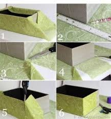 Decorative Paper Storage Boxes With Lids Decorative Fabric Storage Boxes Foter