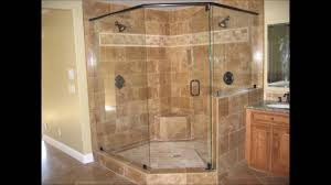 shower designs without doors shower door with river glass designs