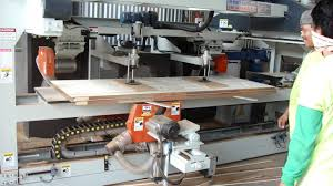 lih woei 4 side door edge cutting machine wood working machine