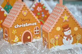 gingerbread house 3d tree ornaments pdf