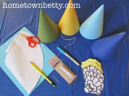 tutorial how to make simple chima party hats 8 steps