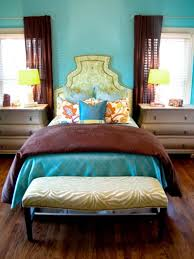 Blue And Brown Bedroom by 20 Colorful Bedrooms Hgtv