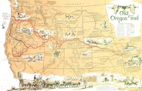 Map Of Oregon Trail by Works Cited Oregon Territory