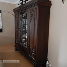 Wohnzimmerschrank Um 1960 Herrenzimmer Wohnzimmerschrank Und Schreibtisch Um 1930 Eiche Dunkel