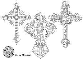 flash celtic crosses 3 line by sidneyeileen on deviantart