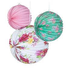 amazon com talking tables truly scrumptious floral paper lanterns